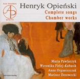 Complete songs - Chamber Works