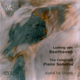 BEETHOVEN - De Groote - Sonate pour piano n°29 op.106 'Hammerklavier'