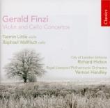 FINZI - Little - Concerto pour violoncelle et orchestre op.40