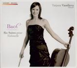 BACH - Vassiljeva - Six suites pour violoncelle seul BWV 1007-1012