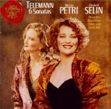 TELEMANN - Petri - Sonate pour deux flûtes, en la majeur TWV 40:103