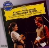 FRANCK - Danczowska - Sonate pour piano et violon en la majeur FWV.8