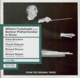 Wilhelm Furtwängler and the Berliner Philharmoniker in Rome