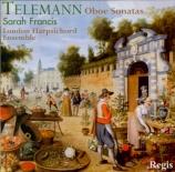TELEMANN - Francis - Sonate pour hautbois et basse continue, en si bémol