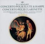 MOZART - Paillard - Concerto pour flûte, harpe et orchestre en do majeur