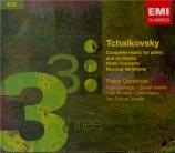 Complete Music for Piano and Orchestra, Violin Concerto, Rococo Variations