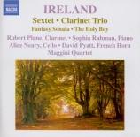 IRELAND - Maggini Quartet - Trio pour clarinette, violoncelle et piano e