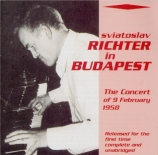 The Concert of 9 February 1958 in Budapest