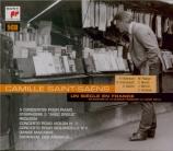 SAINT-SAËNS - Entremont - Concerto pour piano n°1 op.17