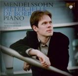 MENDELSSOHN-BARTHOLDY - De Boer - Rondo capriccioso (étude), pour piano