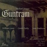 STRAUSS - Pritchard - Guntram, opéra op.25 (live BBC 1985) live BBC 1985