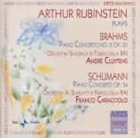 BRAHMS - Rubinstein - Concerto pour piano et orchestre n°2 en si bémol m