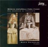 Musica Espanola para piano : Del Barroco al presente