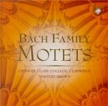 Bach Family : Motets