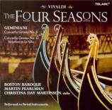 VIVALDI - Pearlman - Le quattro stagioni (Les quatre saisons) op.8