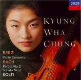 BACH - Chung - Partita pour violon seul n°2 en ré mineur BWV.1004