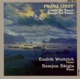 LISZT - Wottrich - O lieb, so lang du lieben kannst, lied pour voix et p