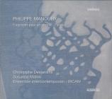 MANOURY - Ensemble InterC - Fragments pour un portrait