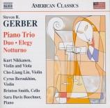 GERBER - Nikkanen - Trio pour piano