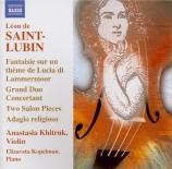 Virtuoso works for Violin Vol.1