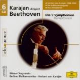 BEETHOVEN - Karajan - Egmont, musique de scène pour orchestre op.84