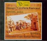 MASCAGNI - Cosmi - Cavalleria rusticana