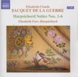 JACQUET DE LA GUERRE - Farr - Suite pour clavecin en ré mineur (Pièces d
