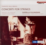 DALL'ABACO - Cappella Coloni - Concerti a quattro da chiesa op.2 : extra