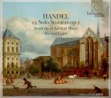 HAENDEL - Egarr - Sonate pour flûte en mi mineur op.1 n°1b HWV.359b