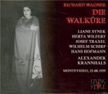 WAGNER - Krannhals - Die Walküre (La Walkyrie) WWV.86b Live Montevideo 25 - 08 - 1959