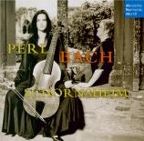 BACH - Perl - Sonates (6) pour viole de gambe et clavecin d'après BWV 52