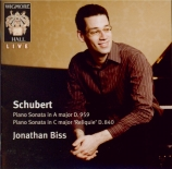SCHUBERT - Biss - Sonate pour piano en do majeur D.840 'Reliquie' (trois