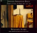 BACH - Alard - Six sonates en trio pour orgue BWV 525-530 orgue Bernard Aubertin de Saint Louis en l'Ile. Paris