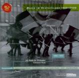 SCHNEBEL - Eschenbach - Sinfonie Stücke