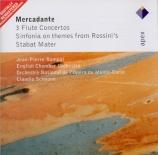 MERCADANTE - Rampal - Concerto pour flûte n°6 en ré majeur
