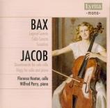BAX - Hooton - Sonate pour violoncelle et piano GP.265