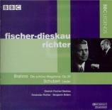 BRAHMS - Fischer-Dieskau - Fünfzehn Romanzen (Tieck), quinze romances po
