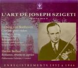 Joseph Szigeti Vol.3