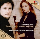 Complete works for violin and piano Vol.1