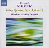 MEYER - Wieniawski Quar - Quatuor à cordes n°5 op.42
