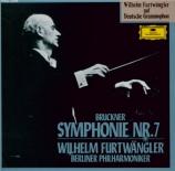 BRUCKNER - Furtwängler - Symphonie n°7 en mi majeur WAB 107 Import Japon - Live Le Caire 1951
