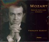 MOZART - Dumont - Sonate pour piano n°11 en la majeur K.331 (K6.300i) 'A