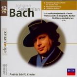 BACH - Schiff - Inventions à 2 voix BWV 772-786