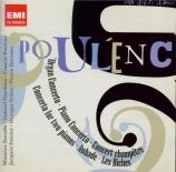 POULENC - Prêtre - Concerto pour orgue, timbales et cordes en sol mineur