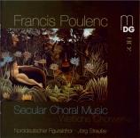 POULENC - Straube - Huit chansons françaises, pour chœur mixte et chœur