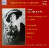 Lieder Recordings Vol.2