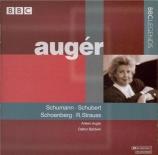 SCHOENBERG - Auger - Vier Lieder op.2