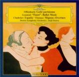 OFFENBACH - Ozawa - La gaîté parisienne : orchestration Rosenthal Import Japon
