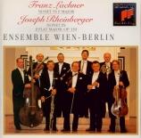RHEINBERGER - Ensemble Wien-B - Nonette op.139