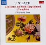 Concertos for Solo Harpsichord (Complete)
